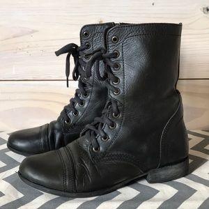 Steve Madden | Troopa Combat Boot | Black